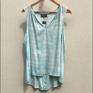 NWT Michael Stars sleeveless split back tunic/top